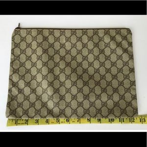 Authentic Gucci Portfolio/Large Clutch/Cosmetic
